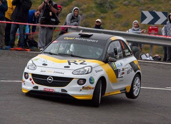 OPEL ADAM R2 Rallye Canarias