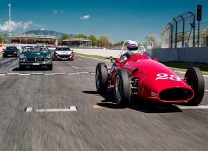 Celebración de los 100 años de Maserati en el Espíritu de Montjuic.