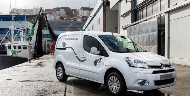 Presentación y prueba Citroën Berlingo Electric 2014, Vigo