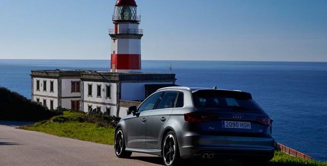 Prueba Audi A3 Sportback 2.0 TDi Quattro, Cabo Silleiro, Rubén Fidalgo