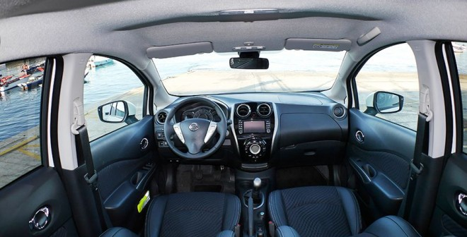Prueba Nissan Note dCi 90 CV 2014, interior, Rubén Fidalgo