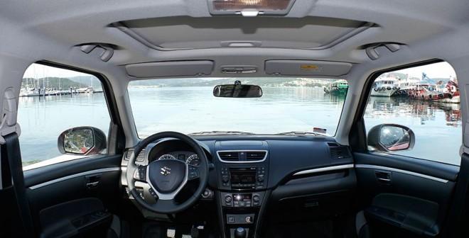 Prueba Suzuki Swit 1.2 95 CV 2014, interior, Rubén Fidalgo