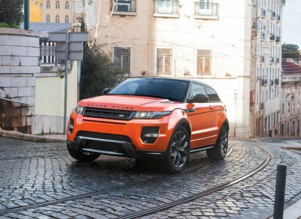 El Range Rover Evoque es uno de los SUVs de lujo más populares.