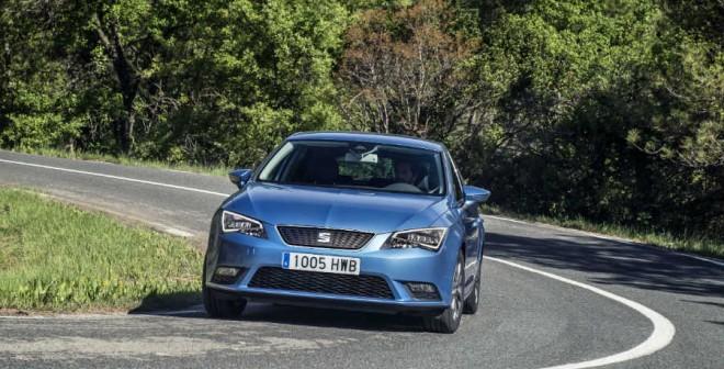 El Seat León Ecomotive es un ejemplo de cómo debe comportarse un coche al negociar curvas.
