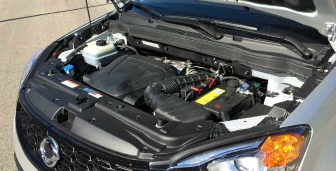 El motor del SsangYong Korando que hemos probado tiene fuerza suficiente para sacarnos de cualquier apuro.