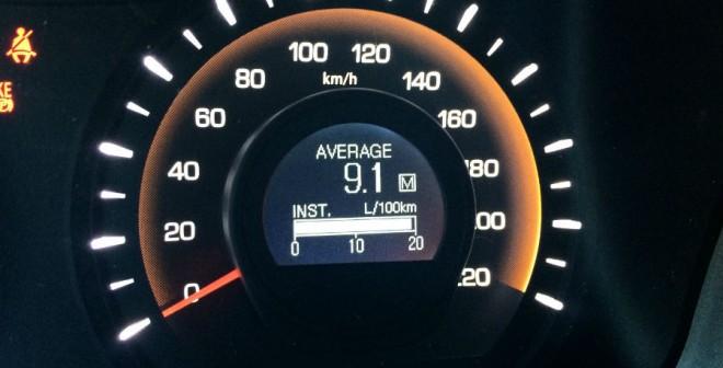 El consumo del motor diésel del SsangYong Korando que hemos probado es elevado.