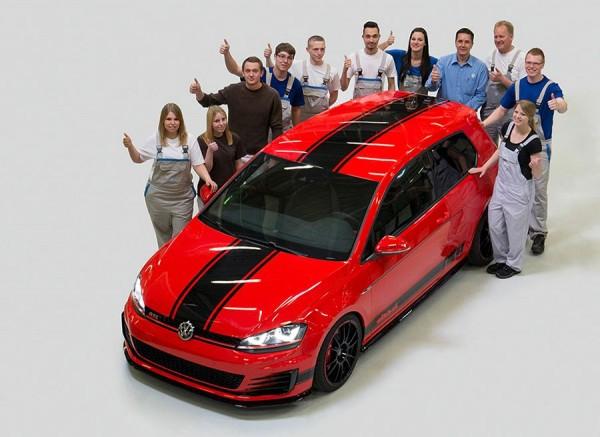 VW Golf Wolfsburg Edition Wörthersee Tour 2014