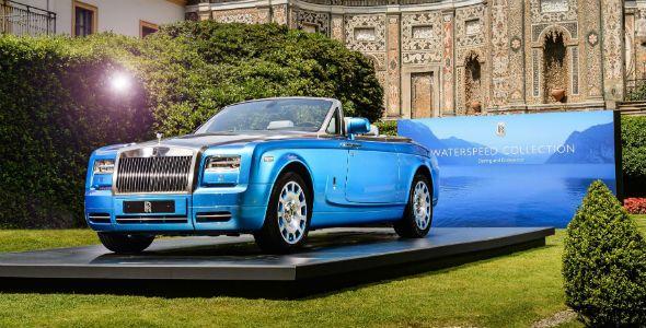 Rolls-Royce Phantom Drophead Coupé Bespoke Waterspeed