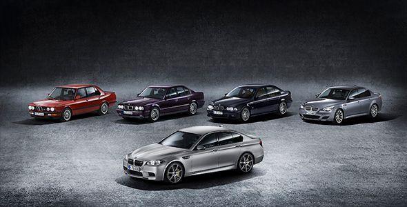 Nuevo BMW M5 30 Jahre Edition: 159.000 euros