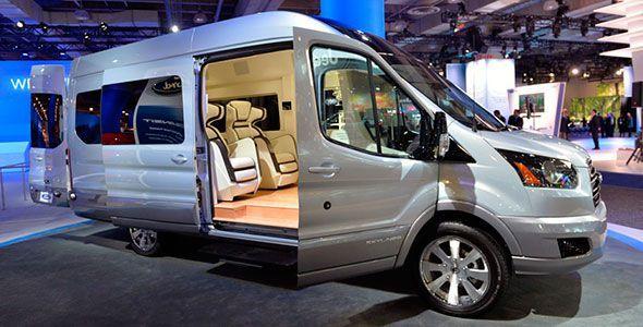 Ford Transit Skyliner 2014: un lujo fuera de serie