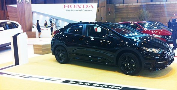 Honda Civic Black Edition Sport, presente en el Salón de Madrid