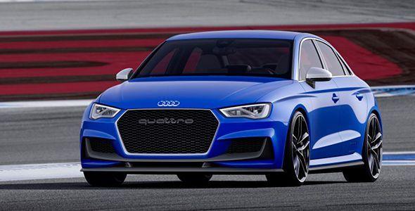 Audi A3 Clubsport Quattro Concept: animando el Wörthersee Tour 2014