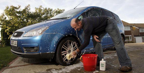 Un coche limpio da la felicidad