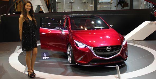 Mazda Hazumi, debuta en el Salón de Madrid