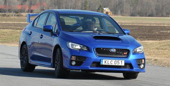 Subaru WRX STi 2014: al volante