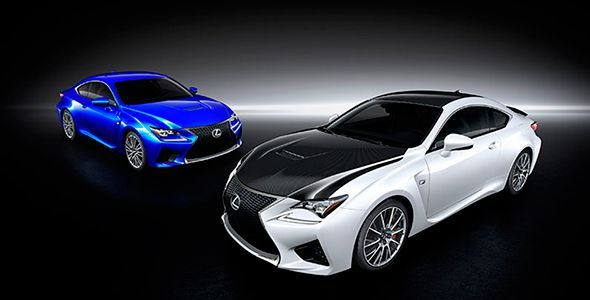 Precios y gama Lexus RC F en España
