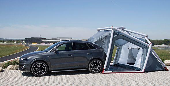 Audi Q3 Camping Tent: de camping en el Wörthersee Tour 2014
