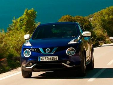 Así es el nuevo Nissan Juke Dynamic Blue en movimiento