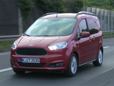 Vídeo: Ford Tourneo Courier