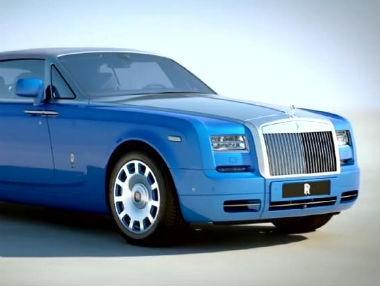 El Rolls-Royce Phantom Drophead Coupé Bespoke Waterspeed, en vídeo