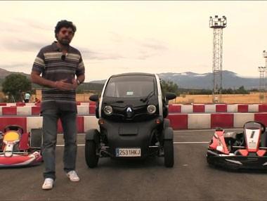 Vídeo prueba: un Renault Twizy contra un kart