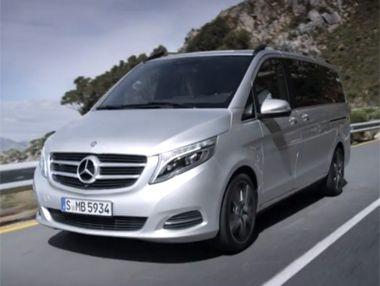 Vídeo: Mercedes Clase V