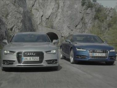 Vídeo Audi A7 y S7 Sportback