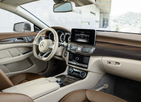 Algunos de los interiores del nuevo CLS siguen siendo clase y elegancia en estado puro.