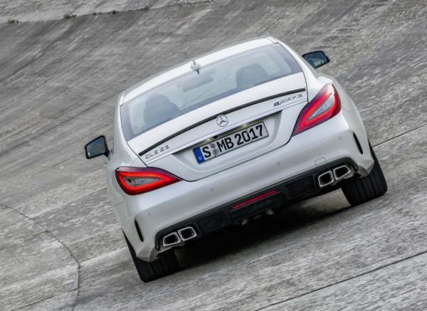La versión AMG del CLS continuará siendo la más espectacular.