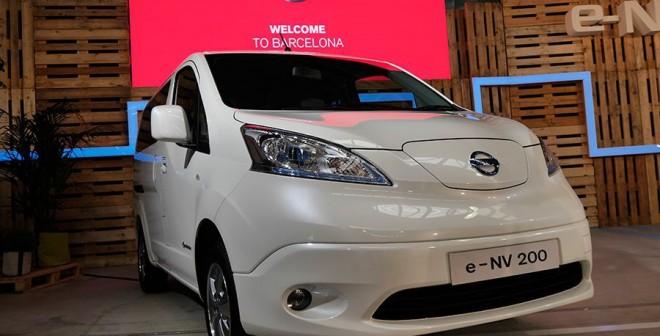 Presentación y prueba del Nissan e-NV 200 2014, Barcelona, Rubén Fidalgo