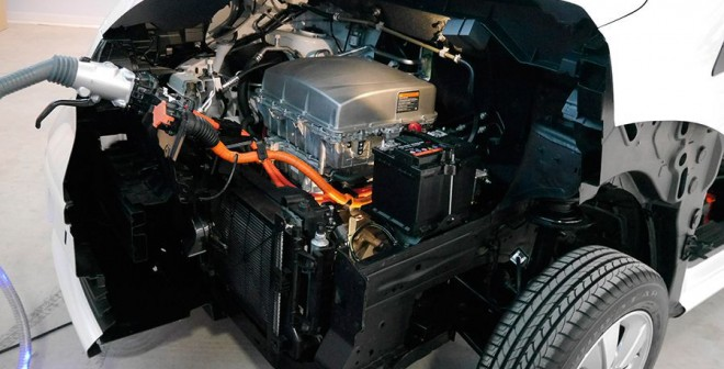 Presentación y prueba del Nissan e-NV 200 2014, motor, Rubén Fidalgo
