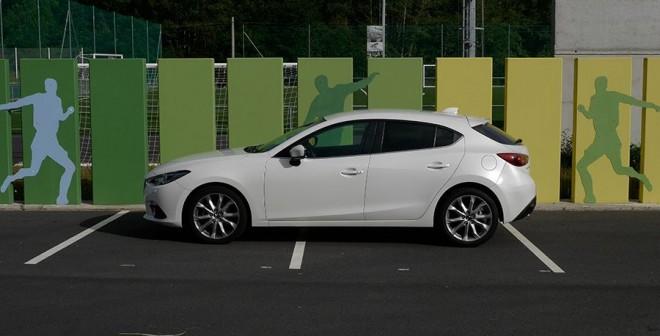Prueba Mazda3 2.2 Diésel automático 2013, Cuntis, Rubén Fidalgo