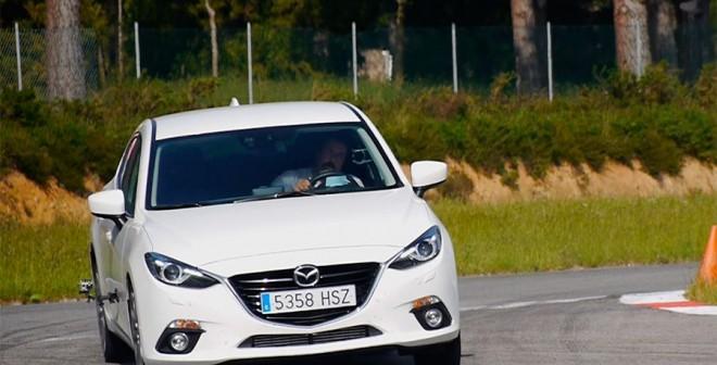 Prueba Mazda3 2.2 Diésel automático 2013, A Pastoriza, Rubén Fidalgo