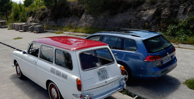 Prueba VW Golf Variant TDI DSG 105 CV 2014, Vigo, Rubén Fidalgo