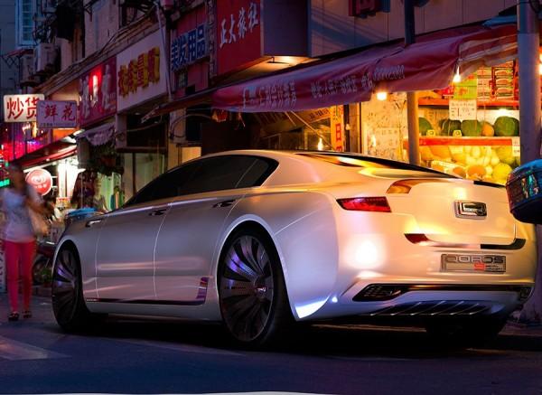 Quoros 9 Sedan Concept