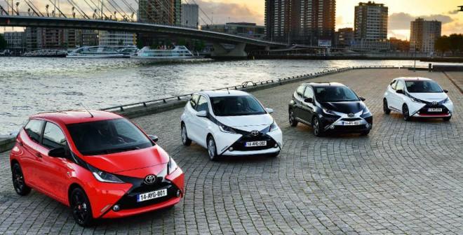 La imagen del Toyota Aygo varía sustancialmente según la combinación de colores elegida.