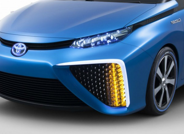 El diseño del Toyota FCV es bastante futurista.