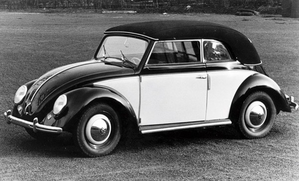 VW Beetle Karmann 1949