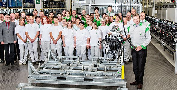Skoda inicia la producción del nuevo motor 1.0 MPi EA211