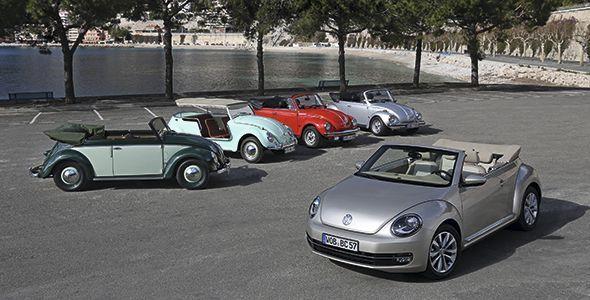 VW Beetle Cabriolet Karmann y Golf Edition, primicias en el AMI de Leipzig 2014