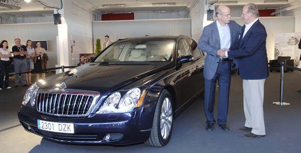 Los coches de lujo del Rey Juan Carlos