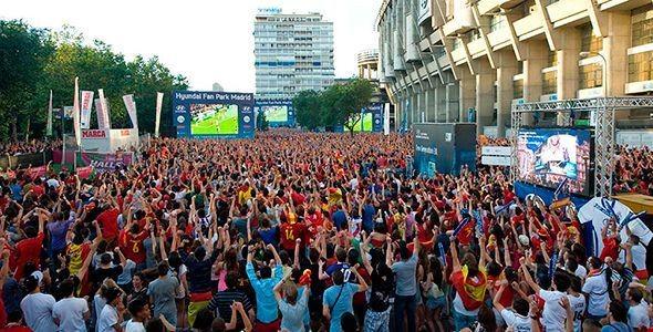 Disfruta del Mundial de Brasil 2014 en el Fan Park de Hyundai en Madrid