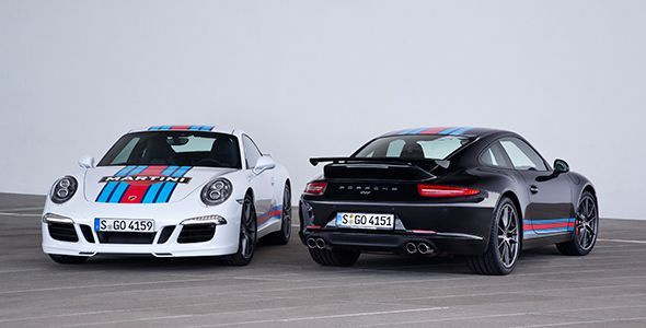 Porsche 911 Martini Racing Edition 2014: homenaje a las 24 Horas de Le Mans