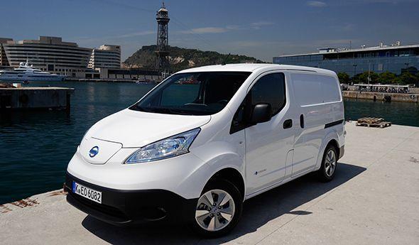 Presentación y prueba del Nissan e-NV 200; el eléctrico de 2014