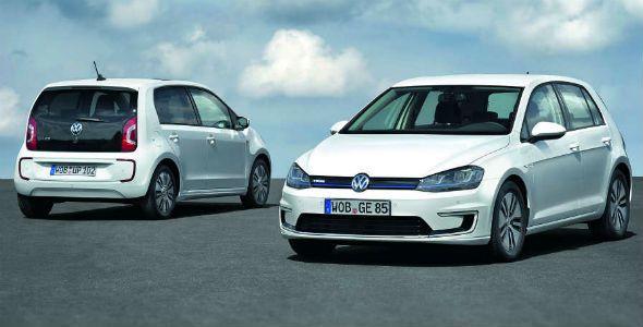 Volkswagen e-Up! y e-Golf: ya a la venta