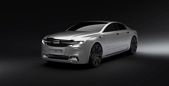El diseño del Qoros 9 Sedán Concept debuta en el Reino Unido