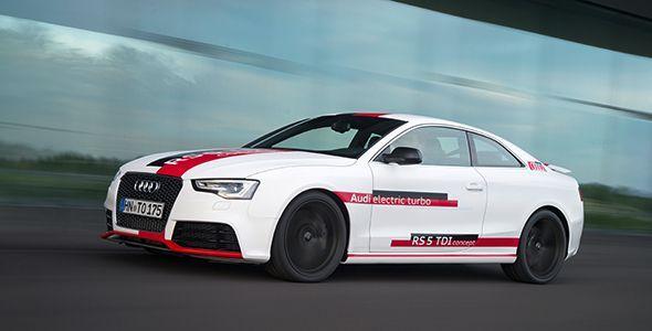 Audi RS 5 TDi Concept: 385 CV y 750 Nm desde 1.250 rpm
