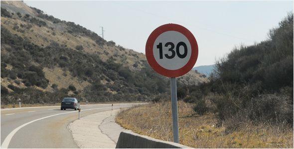 ¿Dónde podremos circular a 130 km/h?
