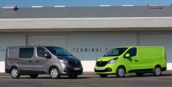 Los nuevos Renault Trafic y Master ya a la venta