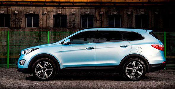 El nuevo Hyundai Grand Santa Fe reemplaza al ix55